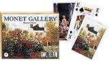 Piatnik Claude Monet Maison de Monet (Monet's House) Double Deck Playing Cards