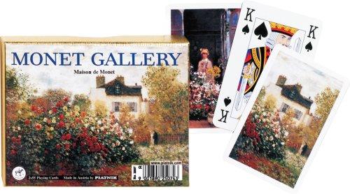 Piatnik Claude Monet Maison de Monet (Monet's House) Double Deck Playing Cards by Piatnik