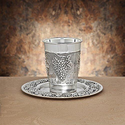 Studio Silversmiths Silverplate Kiddush Cup (silver-plated)