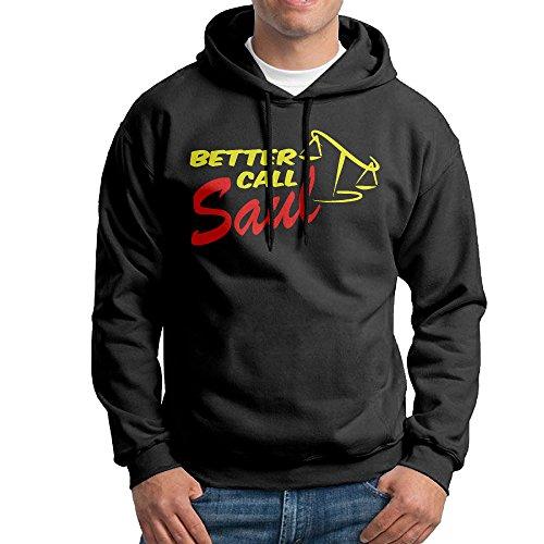 Lightweight 80's Juniors Men Better Call Saul Logo XX-Large Sweatshirt