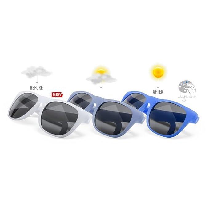 DISOK Lote de 20 Gafas de Sol que cambian de Color con la ...
