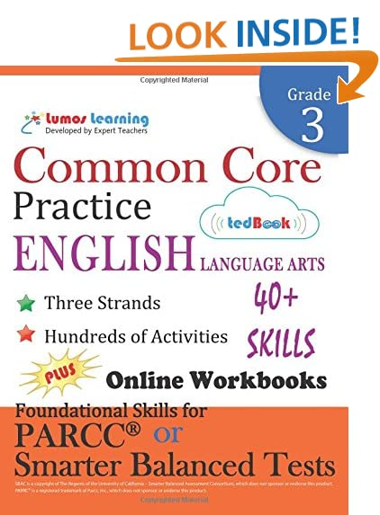 Language Arts Grade 3: Amazon.com