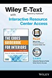 The Codes Guidebook for Interiors, 6e Wiley E-Text Folder and Interactive Resource Center Access Card