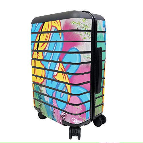 MightySkins Skin Compatible with Away The Carry-On Suitcase - Twisted Wonderland | Protective, Durable, and Unique Vinyl Decal wrap Cover | Easy to Apply, Remove, and Change Styles | Made in The USA -