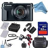Canon PowerShot G7 X Mark II Digital Camera - Wi-Fi Enabled + 12pc DigitalAndMore Cyber Monday Bundle