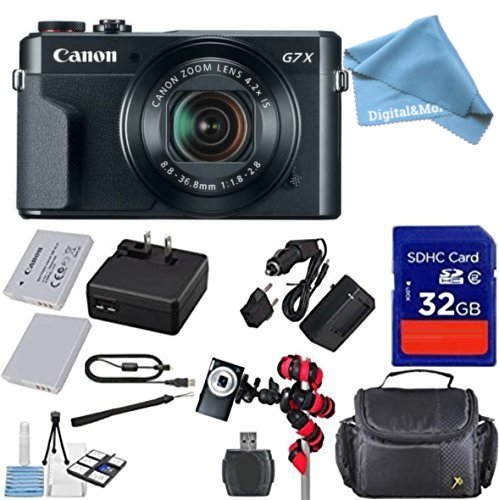 Canon PowerShot G7 X Mark II Digital Camera - Wi-Fi Enabled
