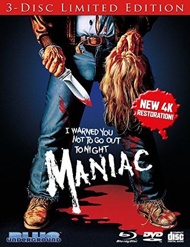Maniac (1980) [Blu-ray + DVD + CD] by Blue Underground