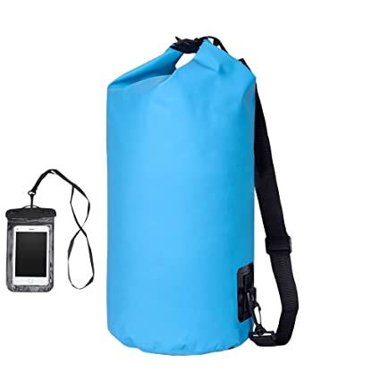 0ff1aacb0549 Shayin Dry Bag Waterproof Floating Dry Sack 20L Roll Top Sack Keeps Gear Dry  for Kayaking