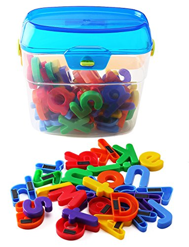 Things That Start With Letter E (EduKid Toys 72 Magnetic Letters & Numbers (Canister) 1.25