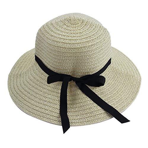 Florenceenid Moda Mujeres elegantes Mujeres Sombreros para el sol al aire libre Gorros Sombrero de playa de verano Sombrero...