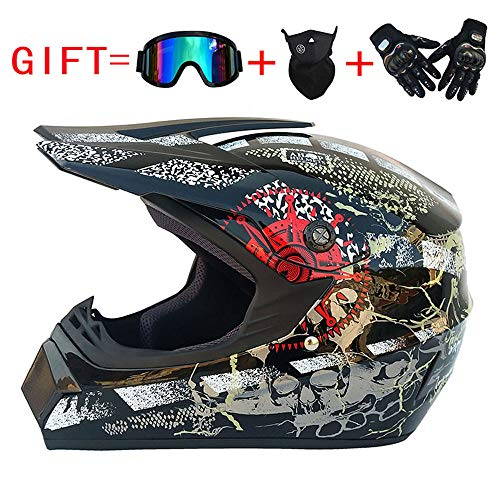 Helmet for Motorcycle,Adult Motocross Helmet, ATV Cross for sale  Delivered anywhere in Canada
