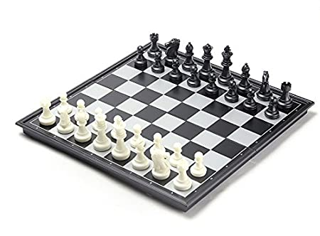 Shopaholic Magnetic Folding Chess Board Game Set Travel Best Gift for Children
