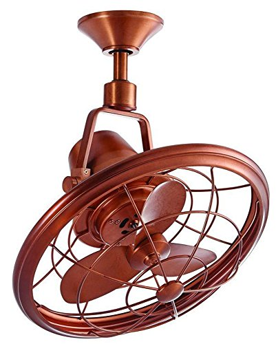 Home Decorators Collection Bentley II 18 in. Weathered Copper Oscillating Ceiling Fan