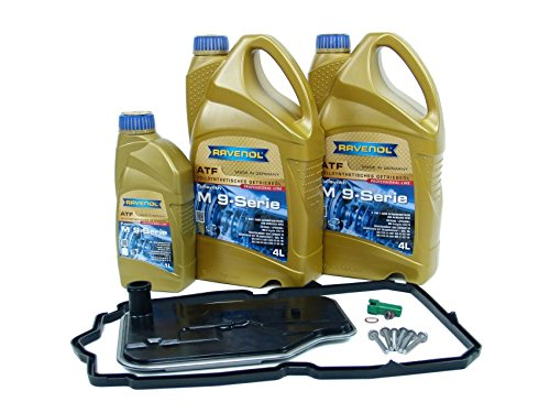 Blau F2A1538-G Automatic Transmission Fluid Change Kit - Compatible with 2007-11 Mercedes GL-Class - 7 SPD (Fits Only 722.9 Transmission with Red Fluid)