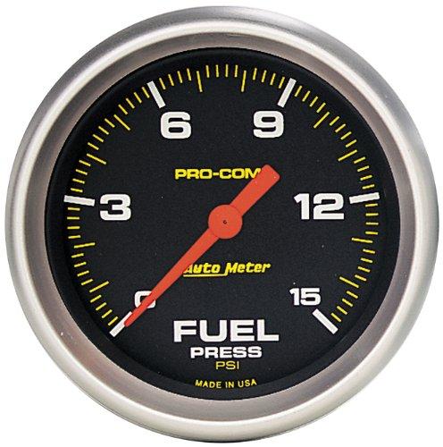 Auto Meter 5461 Pro-Comp Electric Fuel Pressure Gauge (Pressure Fuel Autometer)