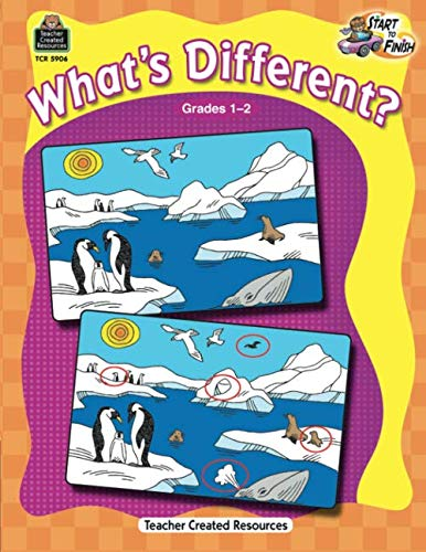 Different Activities - Start to Finish: What's Different? Grd 1-2