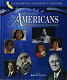 img - for McDougal Littell The Americans: Reconstruction to the 21st Century, California Teacher's Edition book / textbook / text book