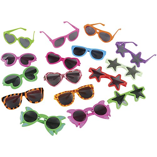 U.S. Toy Kid-sized Fashion Glasses Assortment / 40 - Kids Bulk Sunglasses