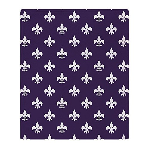Purple Fleur De Lis - 9