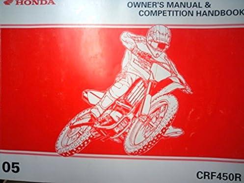 honda 2004 crf250r owners manual competition handbook amazon com rh amazon com honda crf250r owner's manual pdf honda crf250r service manual 2004