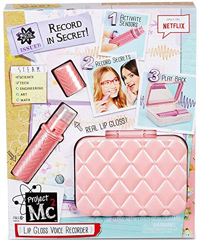 Project Mc2 Lip Gloss Voice Recorder (Three AG13 Batteries Not - Kit Detector Complete