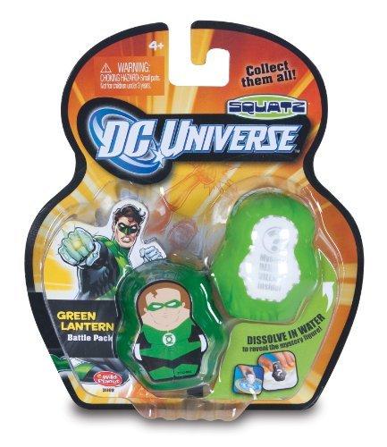 DC Universe Squatz - Green Lantern and Mystery Character by Squatz