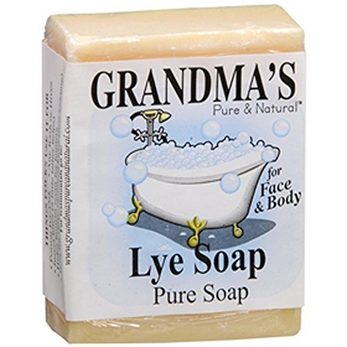 - Remwood 60018 Grandma's Lye Soap 6 Oz