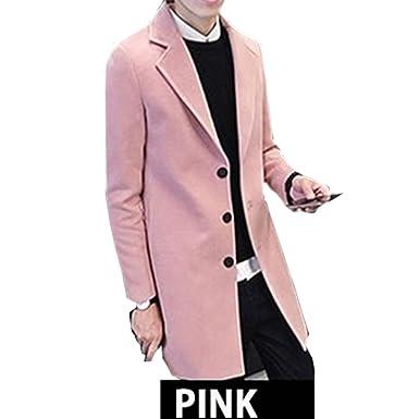 47dc6733f4436f Amazon | メンズファッション チェスターコート ビジネスジャケット メンズ アウター トレンチコート ロング カジュアル 大きいサイズ |  コート・ジャケット 通販