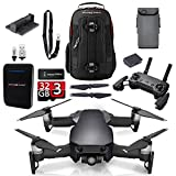 DJI Mavic Air Onyx Black Upgrade Combo Kit w/ Backpack, Remote, Battery, Battery Bank, & Landing Pad