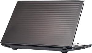 "mCover Hard Shell Case for 15.6"" Acer Aspire E 15 E5-575 / E5-576 Series Windows Laptop (Black)"