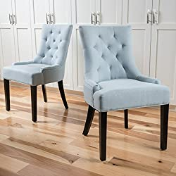 related image of Christopher Knight Home Hayden Fabric Dining Chairs