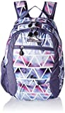 High Sierra Curve Backpack, Great for Kids, High School Backpack, School Bag, Tablet Sleeve, Perfect for Boys and Girls, USB/Cable Port Access, Dreamscape/Purple Smoke