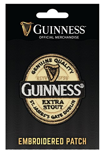 Guinness Embroidered Sew on Patch - Label