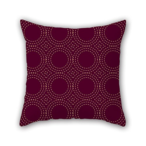 PILLO Throw Pillow Case Of Circle,for Christmas,boys,relatives,birthday,lover,couch 16 X 16 Inches / 40 By 40 Cm(2 Sides)