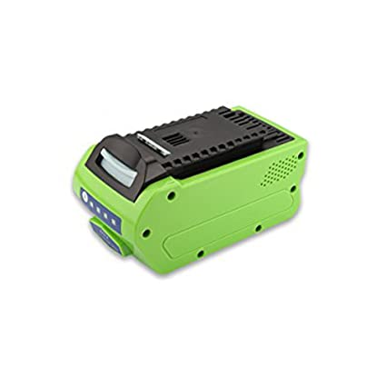 Exmate Li-ion 40V 5.0Ah GreenWorks Replacement Battery for 29462 29472 Only  LG Cell