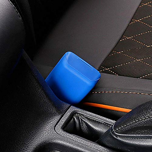 VT BigHome Car Seat Safety Belt Buckle Silicon Protector Cover for Skoda Octavia Fabia Rapid