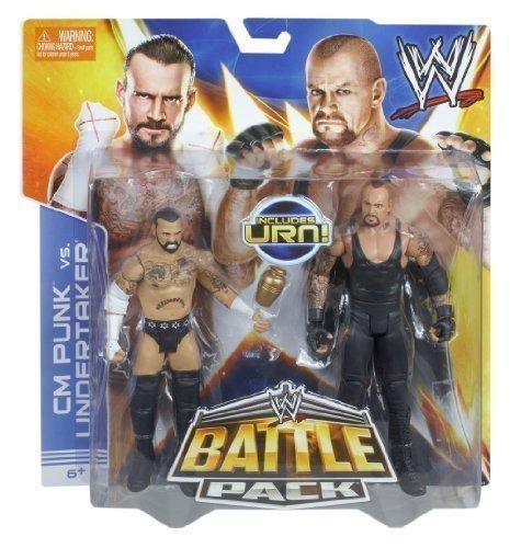 Wwe Battle Pack Cm Punk Vs Undertaker Figures With Urn by WWE