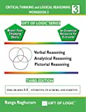 Critical Thinking and Logical Reasoning Workbook-3, Ranga Raghuram, 1494832267