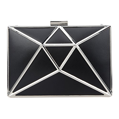 Fawziya 3D Rhombic Evening Clutch Hollow Design Wedding for sale  Delivered anywhere in Canada