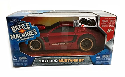 Jada Battle Machines: 2006 Ford Mustang GT 1/32 Scale (Red) - Scale Diecast Battle Machines
