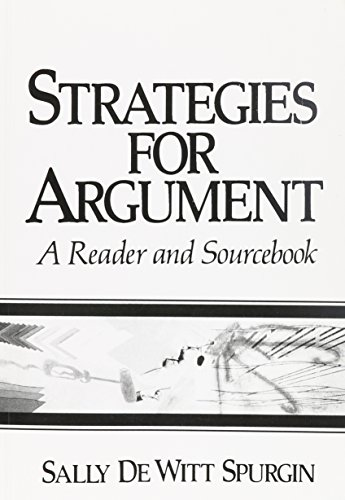 Strategies for Argument: A Reader and Sourcebook