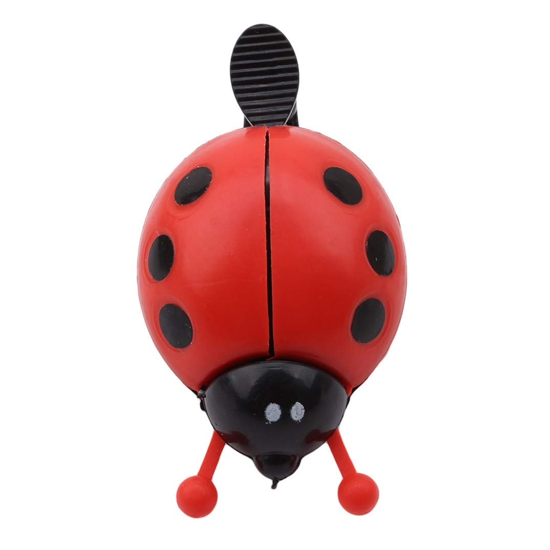 JOOFFF Ladybug Bell Kids Bike Bell Cute Insect Shape Bicycle Warning Bell For Boys Girls Toddler Birthday Gift