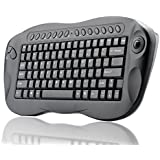 BW Wireless Keyboard With Trackball - QWERTY, Internet + Media Hotkeys, PC + Mac