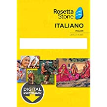 Learn Italian: Rosetta Stone - Italy Levels 1-5 [Mac Key Card Download]