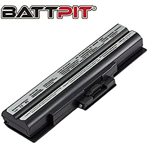 Battpit Recambio de Bateria para Ordenador Portátil Sony VAIO PCG-3D3L (4400 mah)