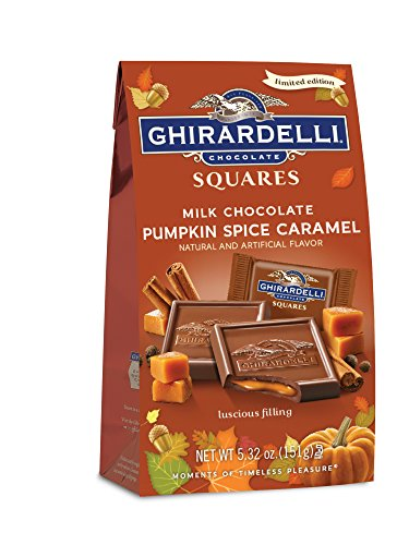 Ghirardelli Fall Pumpkin Spice Caramel Medium Bag, Pumpkin Spice Carmel, 5.3 Ounce (Chocolate Pumpkin compare prices)