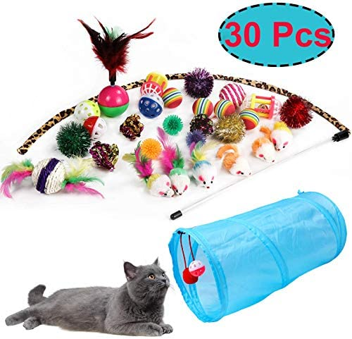 M JJYPET Cat Toys Kitten Toys Assortments,Crinkle Balls for Cat,Kitty,Kitten 2