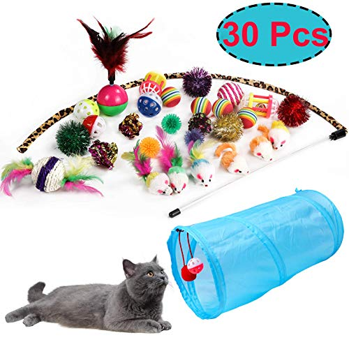 JJYPET Kitten Assortments Feather Crinkle product image