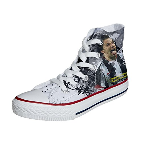 soccer Converse coutume Customized chaussures Adulte artisanal 2 produit italian 0A0qZf