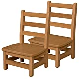 Wood Designs 80802 8'' Chair, Carton of (2) (Pack of 2)